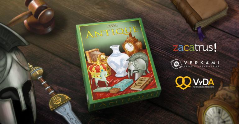 Crowdfunding de Antique: un juego solidario