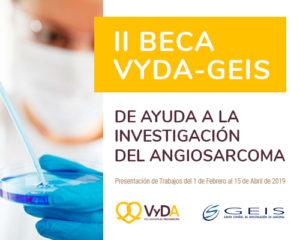 BECA VYDA-GEIS de Ayuda a la Investigación en ANGIOSARCOMA